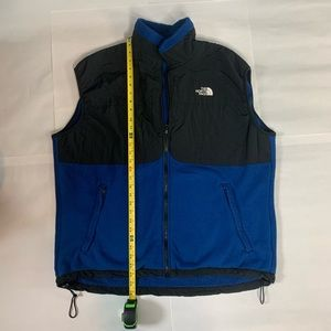 The North Face Vest Sping 98 Size XL Blue & Black